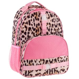 all over print backpack leopard
